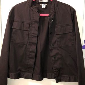 Black button up Jacket from Gap